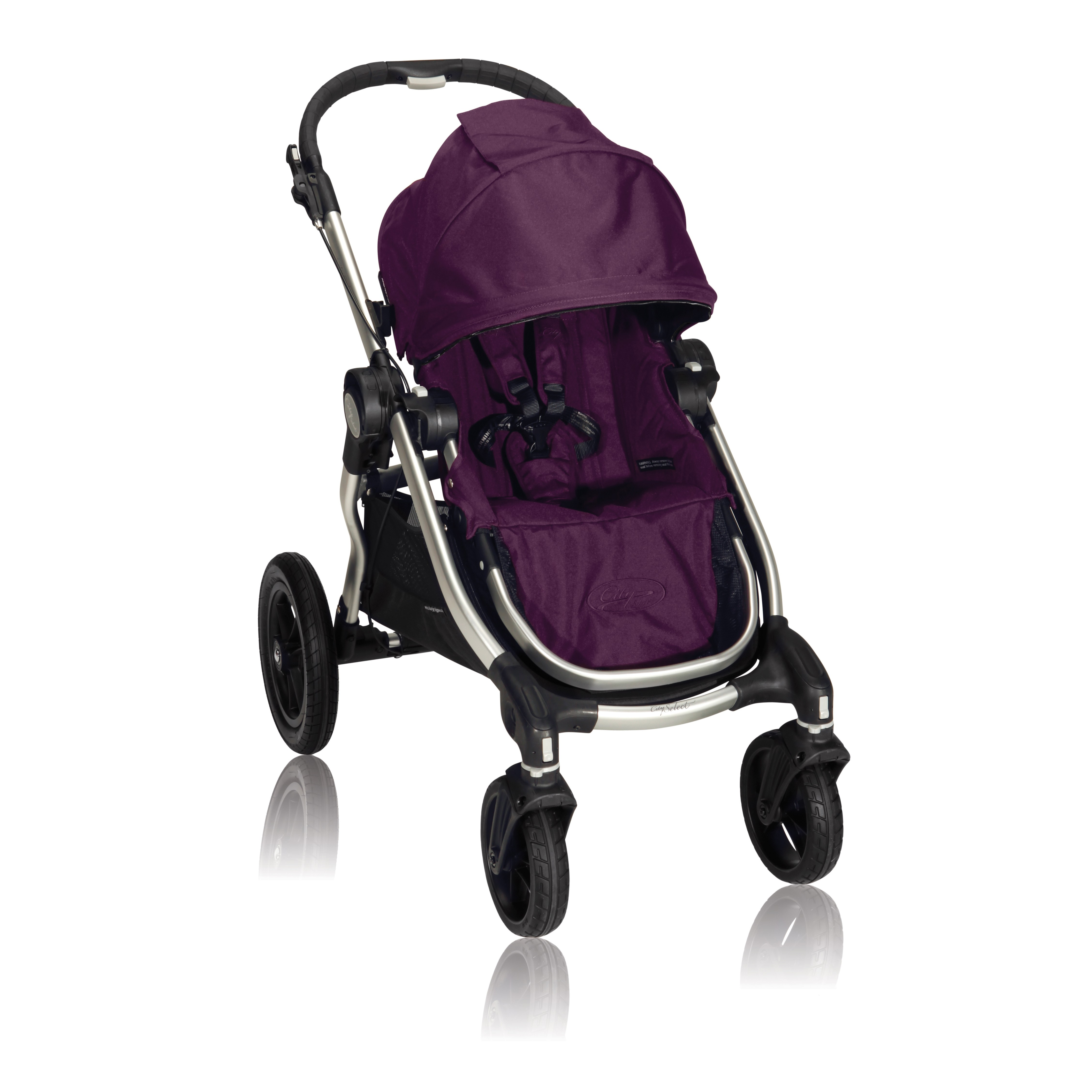 baby jogger city select unique customize stroller amethyst. Black Bedroom Furniture Sets. Home Design Ideas