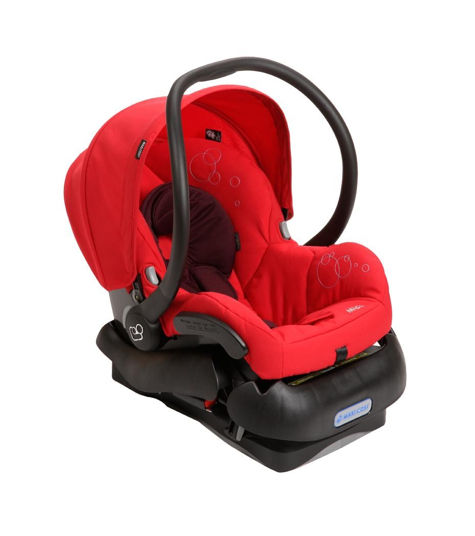 Maxi-Cosi Mico Infant Lightweight Car Seat- Intense Red ...