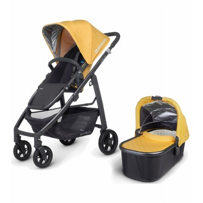 Uppababy Cruz Stroller with Bassinet - Maya