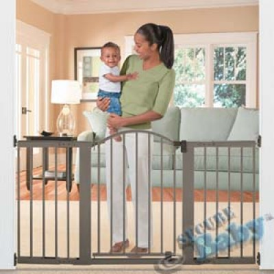 Summer Infant Stylish & Secure 6' Extra Tall Metal Expansion Gate