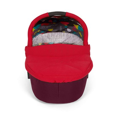 Mamas & Papas Sola² Carrycot - Bright Red