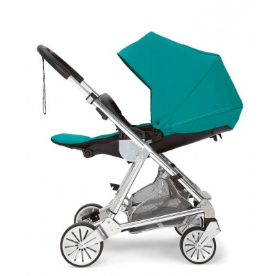 Mamas & Papas Urbo 2 Stroller with Leather Trim Teal