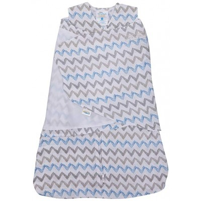 Halo Sleepsack Swaddle Chevron Taupe - Newborn
