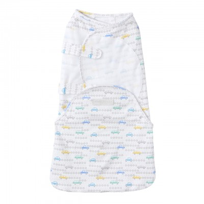 Halo Swaddlesure Adjustable Swaddling Pouch Tuneup Car - Small