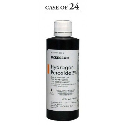 Antiseptic McKesson Brand Topical Solution 4 oz. Bottle - Case of 24