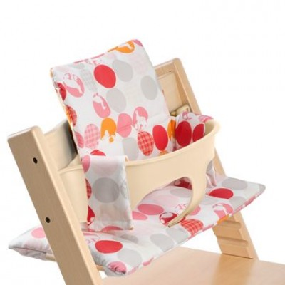 Stokke Tripp Trapp Cushions Premium Silhouette Pink