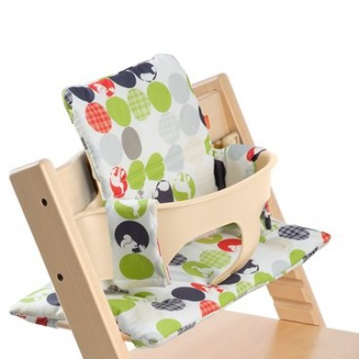 Stokke Tripp Trapp Cushions Premium Silhouette Green
