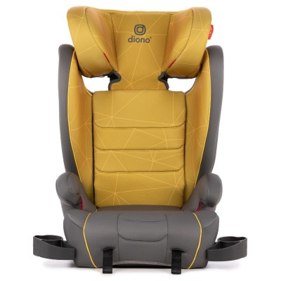 Diono Monterey XT Latch Car Seat Booster - Yellow Sulphur