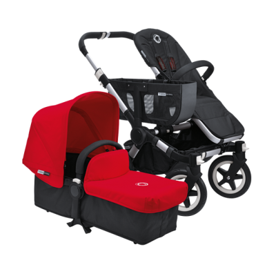 Bugaboo Tailored Fabric Set Red