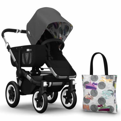 Bugaboo Donkey Andy Warhol Accessory Pack - Dark Grey/Transport