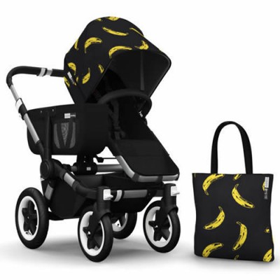 Bugaboo Donkey Andy Warhol Accessory Pack - Banana/Black