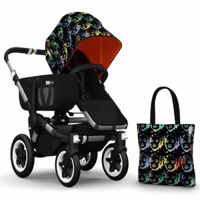 Bugaboo Donkey Andy Warhol Accessory Pack - Marilyn/Orange
