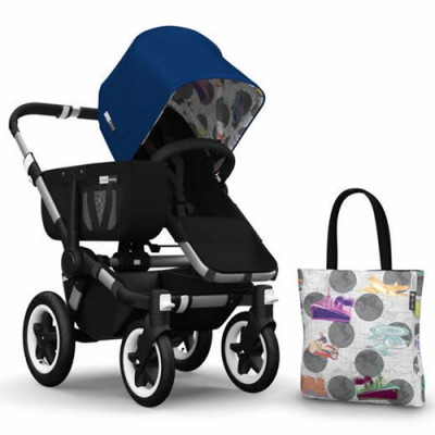 Bugaboo Donkey Andy Warhol Accessory Pack - Royal Blue/Transport
