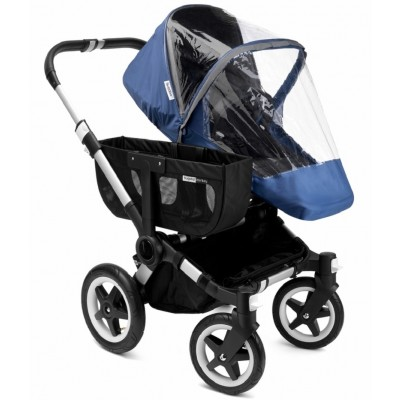 Bugaboo Donkey/Buffalo/Runner High Perf. Raincover - Sky Blue
