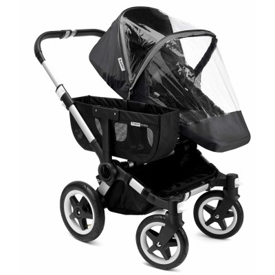Bugaboo Donkey/Buffalo/Runner High Perf. Raincover - Black