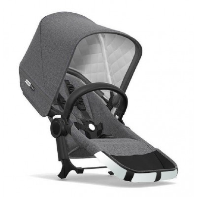 Bugaboo Donkey2 Duo Ext. Set Complete Alu/Black-Grey