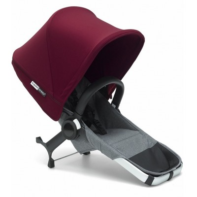 Bugaboo Donkey2 Duo Extension Set Complete Alu/Grey-Red