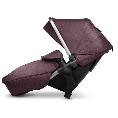 Silver Cross Wave Stroller Tandem Second Seat - Claret