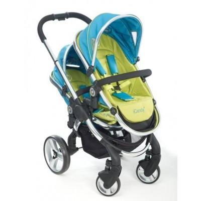 iCandy Peach Stroller with Two Second Seats and Attachment - Sweet Pea