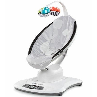 4moms Mamaroo Infant Seat - Silver Plush