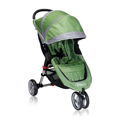 Baby Jogger City Mini Lightweight Easy Fold Stroller Green/Gray