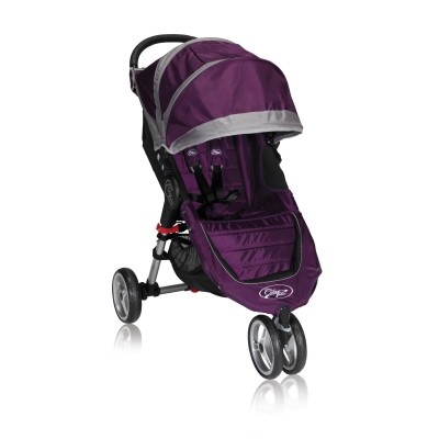 Baby Jogger City Mini Lightweight Easy Fold Stroller Purple/Gray