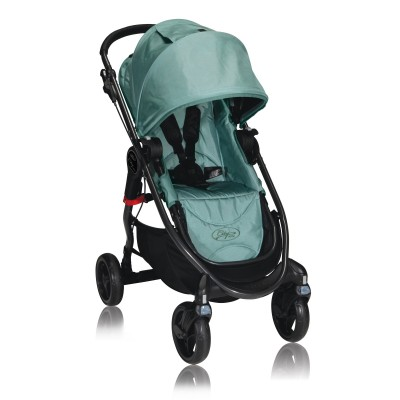 Baby Jogger City Versa One Hand Fold Stroller Green