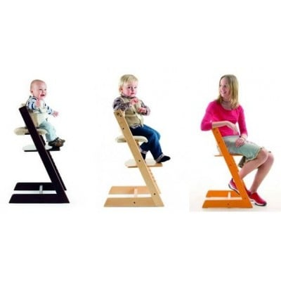 Bon Stokke Tripp Trapp Baby To Adult High Chair With Tripp Trapp Baby Set