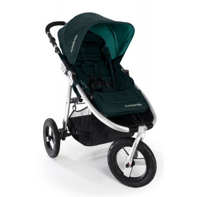 Bumbleride Indie Jogging Stroller in Lotus With Blue Canopy