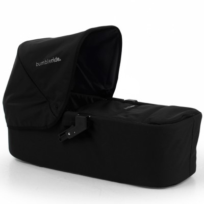 Bumbleride Indie Carrycot in Jet Black