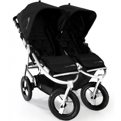 Bumbleride Indie Twin Jogging Stroller in Jet Black