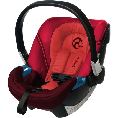 Cybex Aton Infant Car Seat - Poppy Red