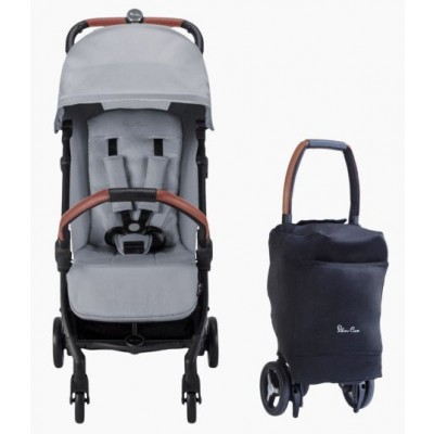 Silver Cross 2020 Jet Ultra Compact Stroller - Silver