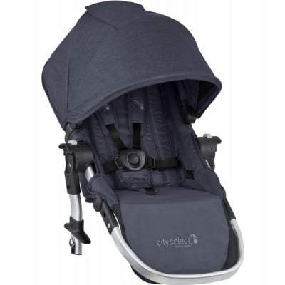 Baby Jogger City Select Second Seat Kit Fashion Update - Carbon