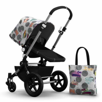 Bugaboo Cameleon3 Andy Warhol Accessory Pack - Transport/Dark Grey