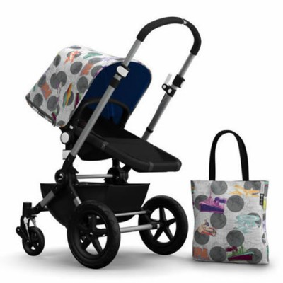 Bugaboo Cameleon3 Andy Warhol Accessory Pack - Transport/Royal Blue