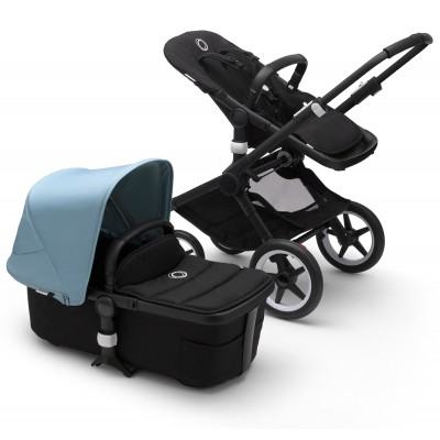 Bugaboo Fox2 Complete Stroller - Black/Mineral Taupe