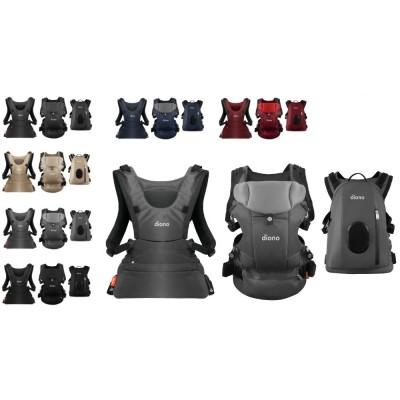 Diono Carus Complete Front and Back Carrier 4 in 1 with backpack