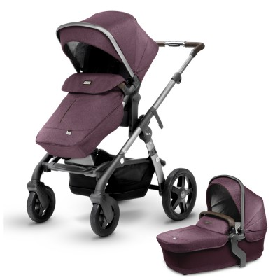 2017 Silver Cross Wave Stroller - Claret