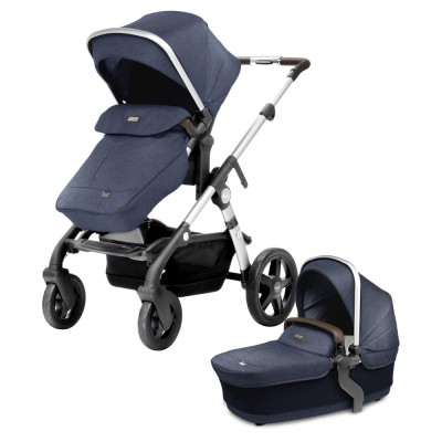 Silver Cross Wave Stroller - Midnight Blue