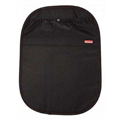 Diono Pack of 2 Seat Protector Stuff n' Scuff - Black