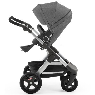 Stokke Trailz All Terrain Stroller - Black Melange