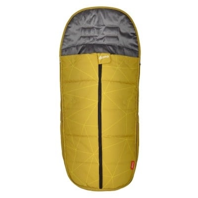 Diono Edition Universal All Weather Footmuff - Yellow Sulphur