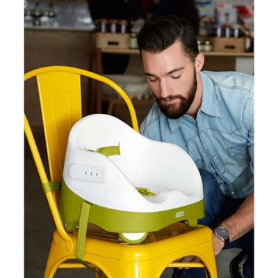 Mamas & Papas Baby Bud with Activity Tray - Lime