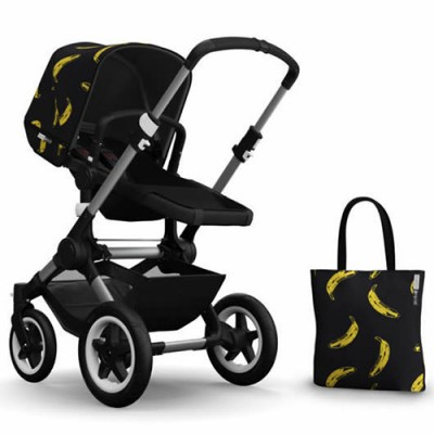 Bugaboo Buffalo Andy Warhol Accessory Pack - Banana/Black