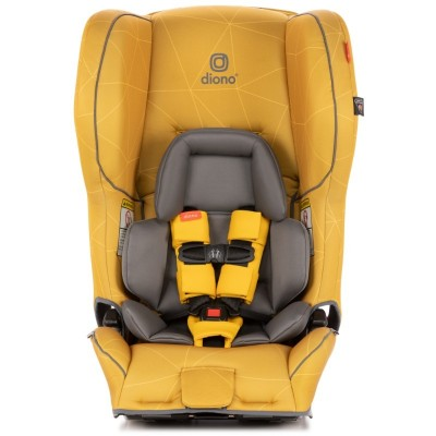 Diono Rainier 2 AX Latch Convertible Car Seat - Yellow Sulphur