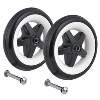 """Bugaboo Bee 6"""" Front Wheels with Foam Filled Tire"""