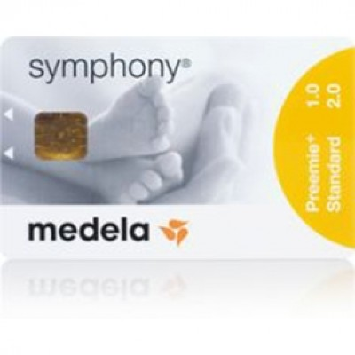 Medela Symphony Electric Breast Pump Preemie Program Card - Spanish
