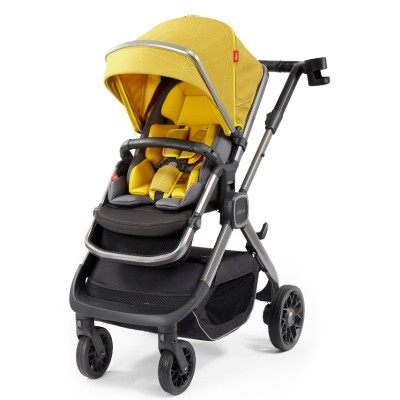 Diono Quantum 2 Edition Full Size Stroller - Yellow Sulphur Linear