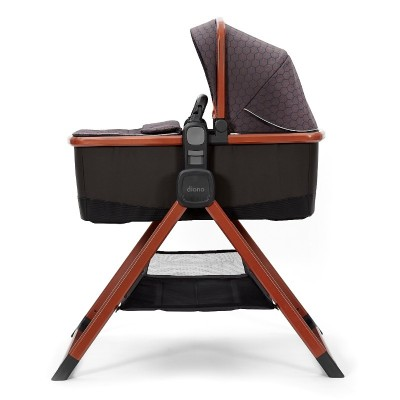 Diono Quantum 2 Carrycot and Travel Stand - Charcoal Copper Hive